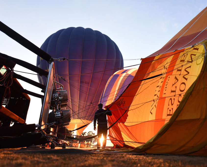 Yarra Valley Photographic Tour Hot Air Balloons
